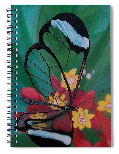 Transparent Elegance Spiral Notebook