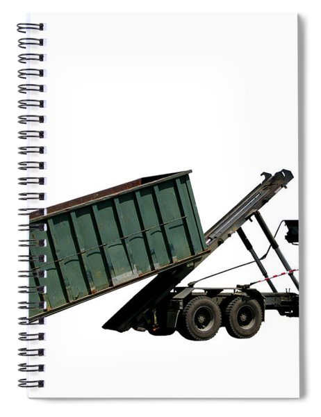 Trash Truck Spiral Notebook by Olivier Le Queinec