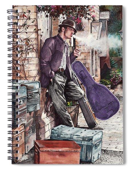 Travelling Man Spiral Notebook