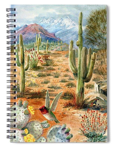 Treasures Of The Desert Spiral Notebook