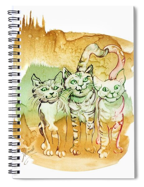 Tree Brothers  Spiral Notebook