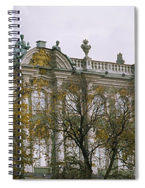 Tree In Front Of A Palace, Winter Spiral Notebook
