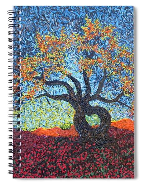 Tree Of Heart Spiral Notebook