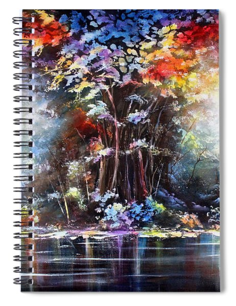Tree Of Life 2 Spiral Notebook