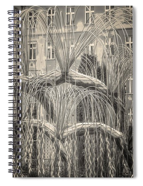 Tree Of Life Dohany Street Synagogue Spiral Notebook