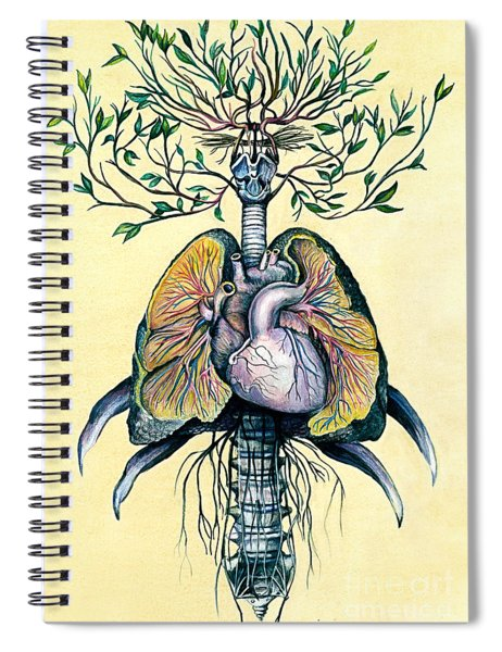 Tree Of Life Spiral Notebook