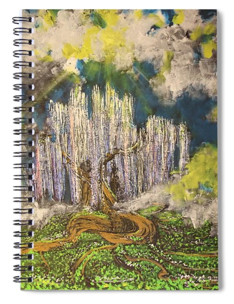 Tree Of Souls Spiral Notebook