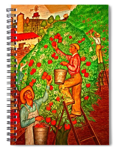 Tree Top Harvest Spiral Notebook