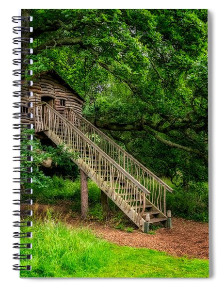 Treehouse Spiral Notebook