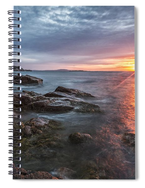 Trembling On The Shore Spiral Notebook
