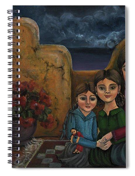 Tres Mujeres Three Women Spiral Notebook