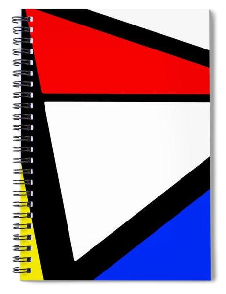 Triangularism I Spiral Notebook