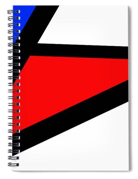 Triangularism II Spiral Notebook
