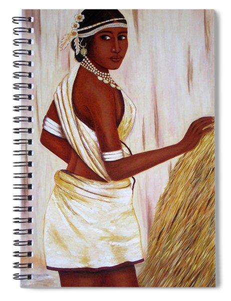 Tribal Girl Spiral Notebook