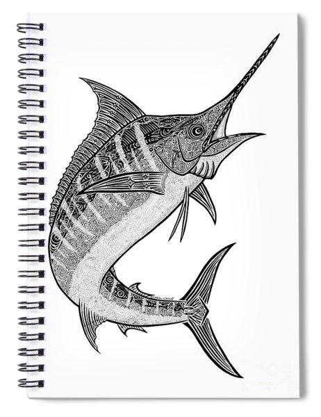 Tribal Marlin IIi Spiral Notebook