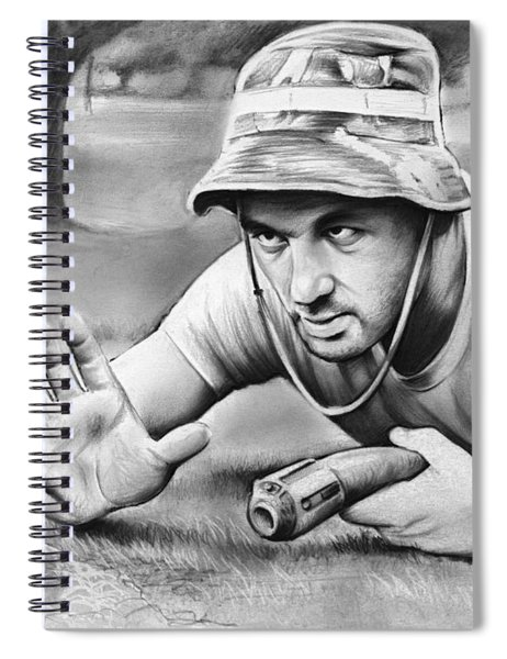 Tribute To Caddyshack Spiral Notebook