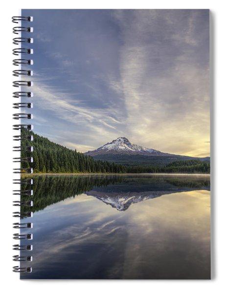 Trillium Lake Spiral Notebook