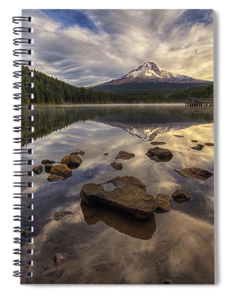 Trillium Reflection Spiral Notebook