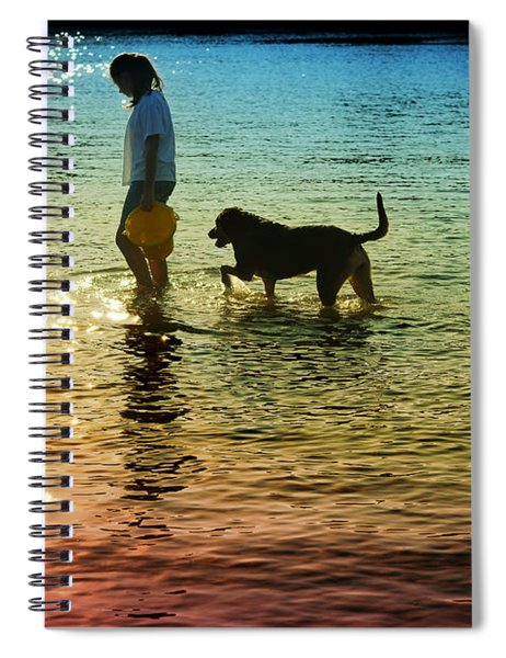 Tripping The Light Fantastic Spiral Notebook