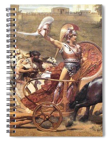 Triumphant Achilles Spiral Notebook