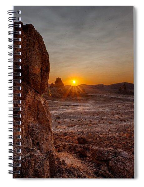 Trona Sunset Spiral Notebook