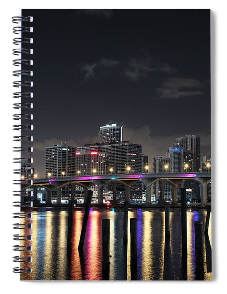 Trooper Bridge Miami Spiral Notebook