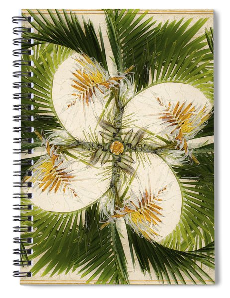 Tropical Design Spiral Notebook