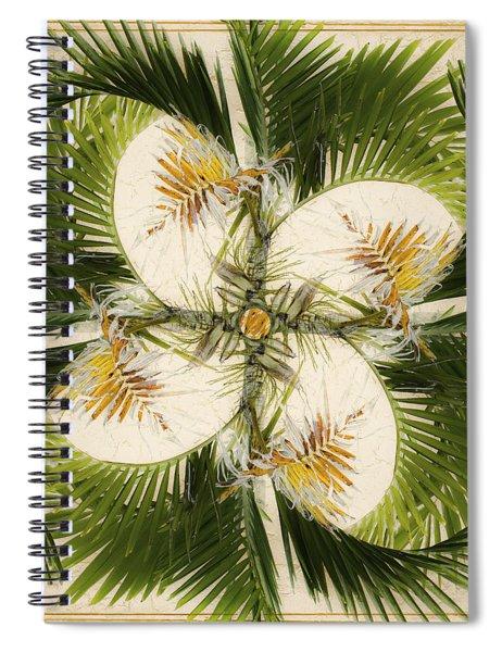 Tropical Design Spiral Notebook