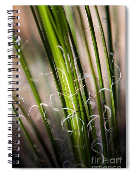 Tropical Grass Spiral Notebook