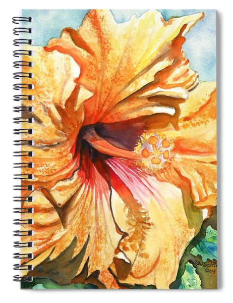 Tropical Hibiscus 3 Spiral Notebook