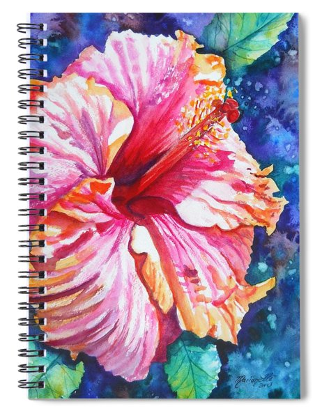 Tropical Hibiscus 4 Spiral Notebook