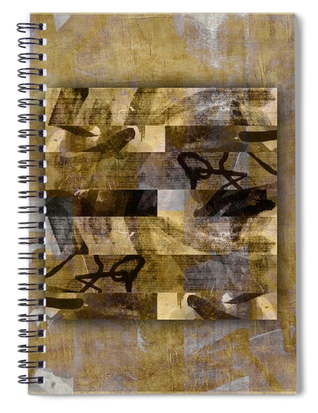 Tropical Panel Number Four Spiral Notebook