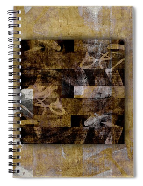 Tropical Panel Number Three Spiral Notebook