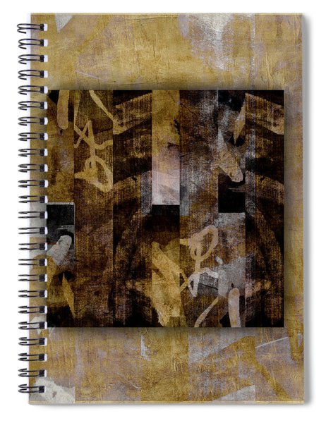 Tropical Panel Number Two Spiral Notebook