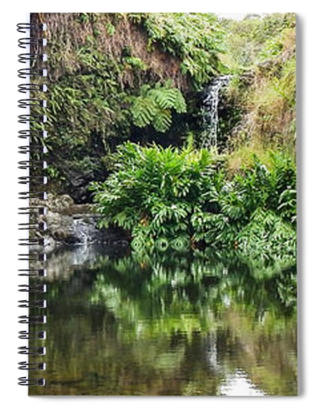 Tropical Reflections Spiral Notebook