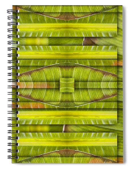 Tropical Three Spiral Notebook