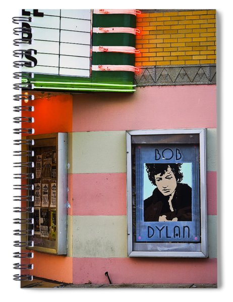 Spiral Notebook featuring the photograph Troubadour by Skip Hunt