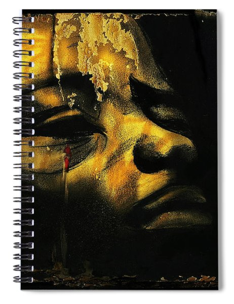 Troubled  Africa Spiral Notebook