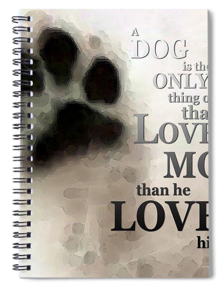 True Love - By Sharon Cummings Words By Billings Spiral Notebook