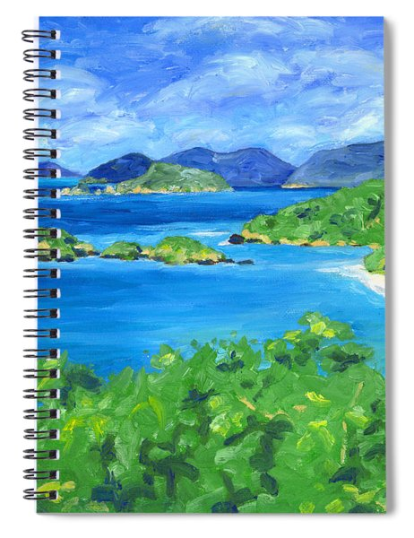 Trunk Bay Spiral Notebook