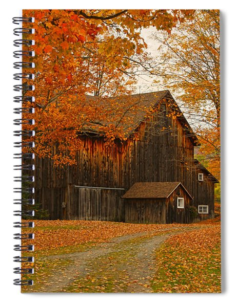 Tucked In The Trees Spiral Notebook