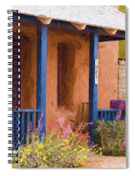 Tucson 821 Barrio Painterly Effect Spiral Notebook