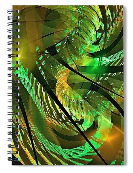 Tuesday Afternoon Arboretum Spiral Notebook