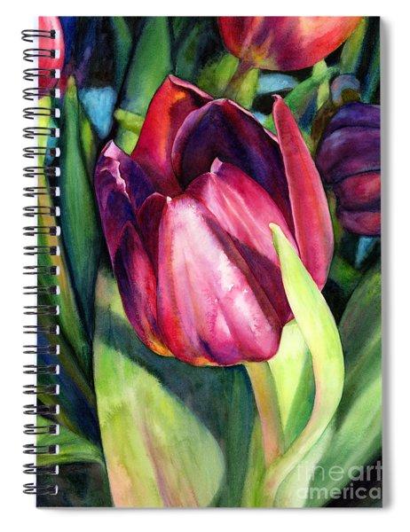 Tulip Delight Spiral Notebook