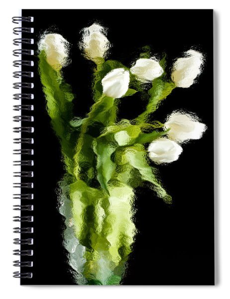 Tulip Impressions Vii Spiral Notebook