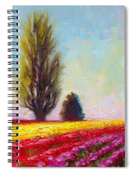 Tulip Sentinels Spiral Notebook