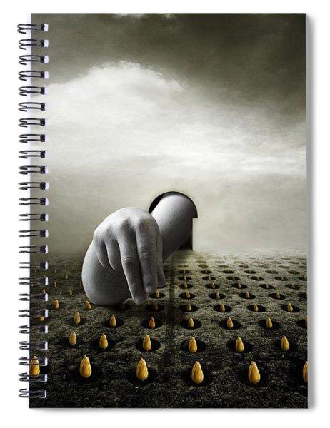 Tulip Thief Spiral Notebook