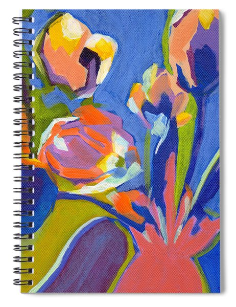 Tulip Variations  Spiral Notebook
