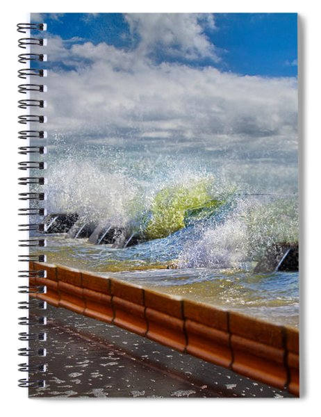 Tumbling Notes Spiral Notebook