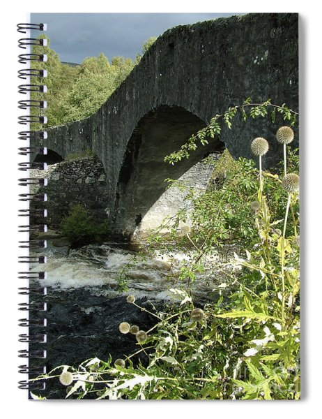 Tummel Bridge - Perthshire Spiral Notebook